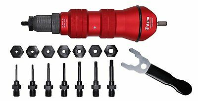 Astro Pneumatic Tool ADN14 Rivet Nut Drill Adapter Kit