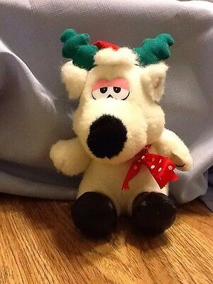 Ace Novelty Plush Reindeer (10 Inch) White