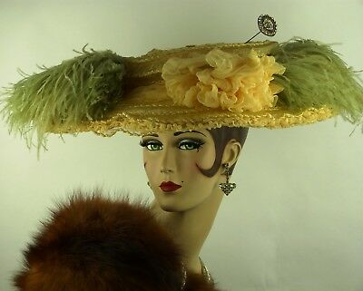Vintage Hat King Edward Vii 1901–1910, By Appt., Liberty Of London, Titanic Hat