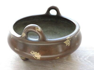 Antique Chinese Bronze Incense Burner Cencer