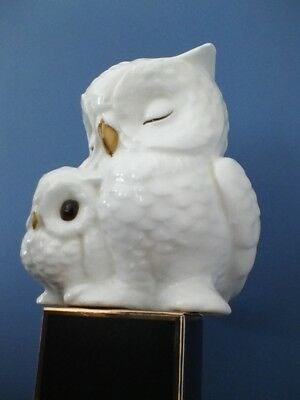 White owls fine bone china by Royal Osborne
