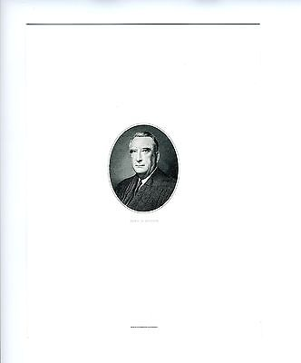 FRED M. VINSON, Supreme Court/US Chief Justice, Bureau of Engraving & Printing