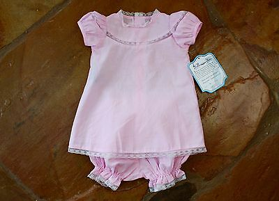 NEW Remember Nguyen Heirloom Dress 9 mths Girls Pink
