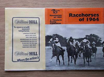 "Timeform ""racehorses Of 1964"" Made Up Dust Jacket"