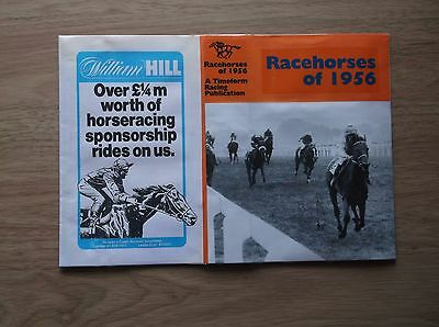 "Timeform ""racehorses Of 1956"" Made Up Dust Jacket"