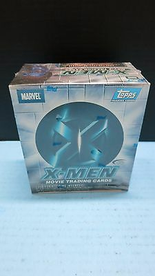 X-Men Movie Trading Cards Factory Sealed Box Topps Auto Jackman Stewart  36 Pack