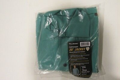 "NEW TILLMAN 6230L 30"" Jacket Lightweight Flame Retardant Cotton, Size - Large"