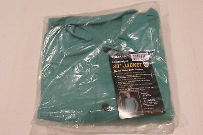 "NEW TILLMAN 6230XL Lightweight 30"" Jacket Flame Retardant Cotton, Size - XL"