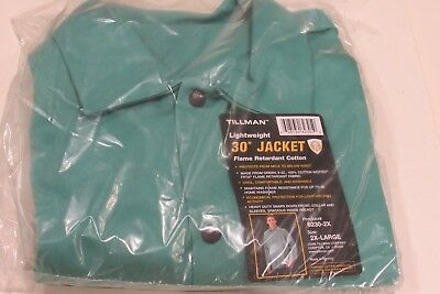 "NEW TILLMAN 6230-2X 30"" Lightweight Jacket Flame Retardant Cotton, Size - 2XL"