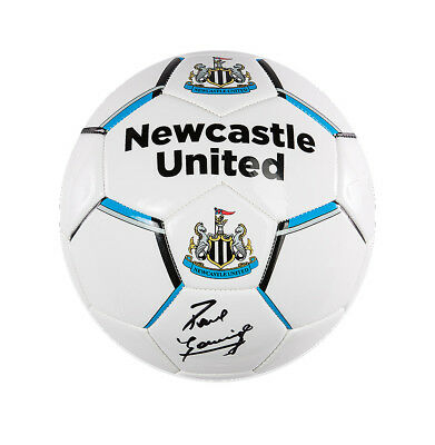 Paul Gascoigne Signed Football - Newcastle United Autograph
