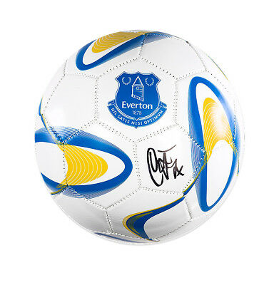Duncan Ferguson Signed Everton Football Autograph