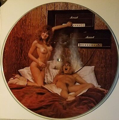 """RANDY RHOADS """"HARD ATTACK"""" TRIBUTE by KEVIN WET  PICTURE DISC 12"""" LP VINYL MINT"""