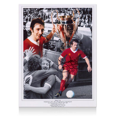 Jimmy Case Signed Liverpool Photo Autograph