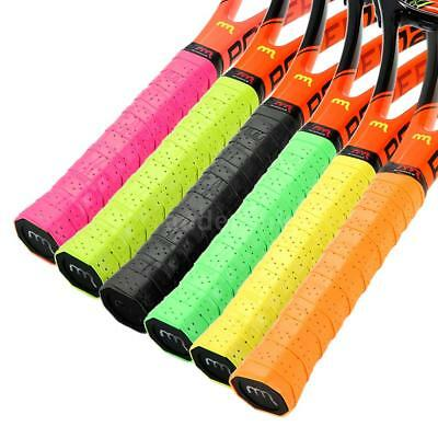 Pack Of 3 Tennis Racket Overgrips Anti-Skid Perforated Sweat Tape Z3U4