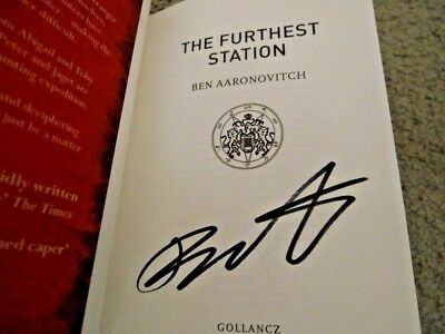 Ben Aaronovitch: The Furthest Station: Signed Uk Hardcover