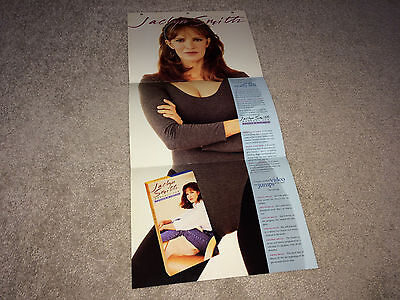 JACLYN SMITH Promo Brochure Workout Video 1993 Pretty Charlie's Angels Poster TV