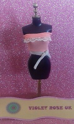 2004 My Scene 'Getting Ready' Chelsea Doll Top - TOP ONLY