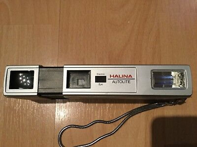 Halina Autolite Power Drive - Sub Mini 110 Film Camera