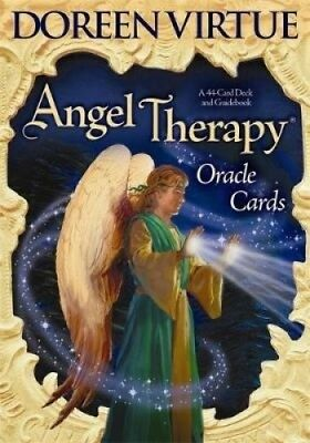 Angel Therapy Oracle Cards: A 44-Card Deck and Guidebook by Doreen Virtue.