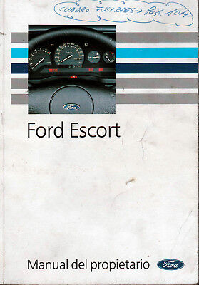 5831 # Manual usuario en español Ford Escort