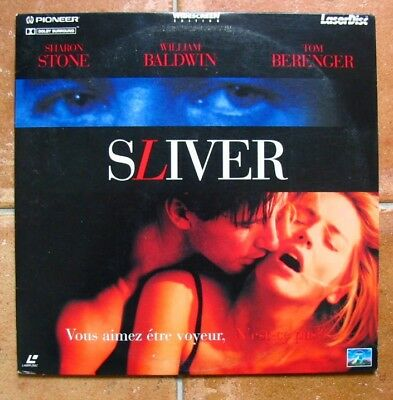 LASERDISC - SLIVER - Sharon STONE /  William BALDWIN