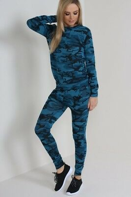 Ladies Camo Tracksuit joblot