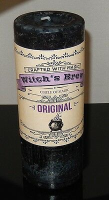 Witches Brew Candle Coventry Creations - EMPOWER Protection Witch Pillar Candle