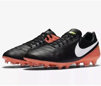 low priced 2e9f3 5f79d NEW Nike TIEMPO LEGACY II (2) FG Firm Ground Soccer Cleats 819218 018 MEN
