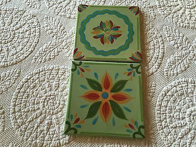 Southern Living At Home Provence Tiles Trivets