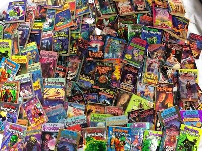 *random!* (Lot Of 10) Goosebumps, Fear Steet, Give Yourself, Books R.l. Stine
