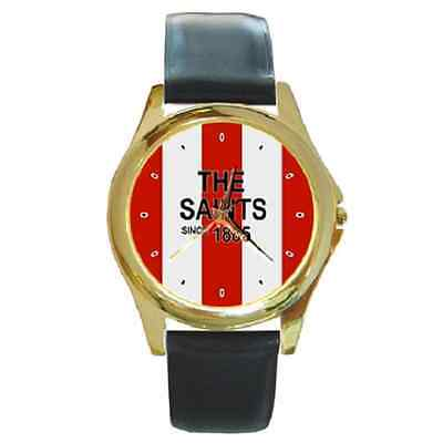 **new* The Saints Since 1885 Southampton Round Wristwatch **superb Item**