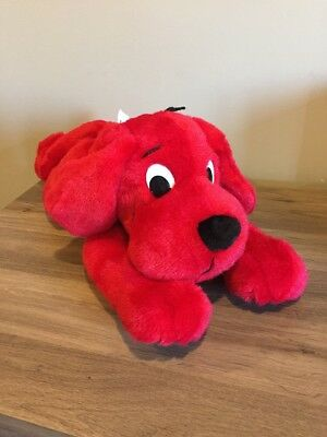 """Clifford The Big Red Dog Large Plush- 19"""" LONG"""