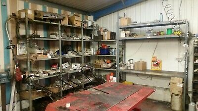 garden machinery repair business for sale