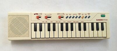 Vintage piano casio pt-10 electronic portable keyboard
