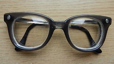 Vintage Fendall glasses,1950s 1960s style, safety glasses