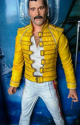 "Freddie Mercury/ Queen 18"" NECA Action Figure with Sound  Rare Collectible"