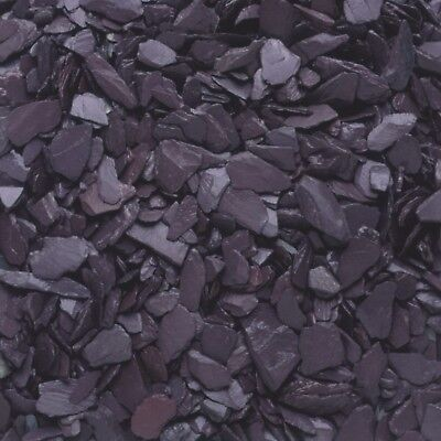 Plum Slate Chippings - 40mm for Landscaping & Driveways - 20kg per bag
