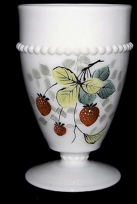 Westmoreland Beaded Edge with Fruit (Strawberry) Tumbler