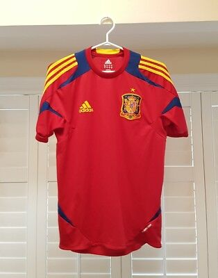 Spain Jersey by Adidas - Red Small