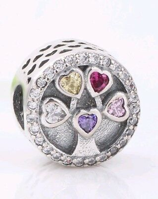 Authentic 925 silver tree of life pandora charm