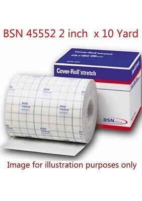 "BSN 45552 Medical Cover-Roll Elastic Stretch Bandage 2"" x 10 Yards Per Roll NEW!"