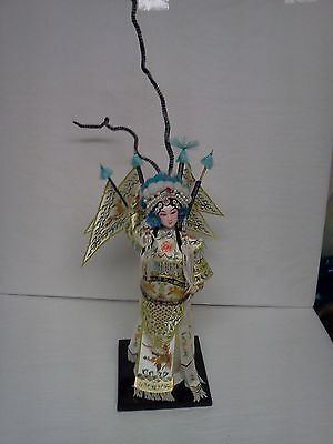 Chinese Traditional Exploring the Valley Doll MU GuiYing Doll Handicraft