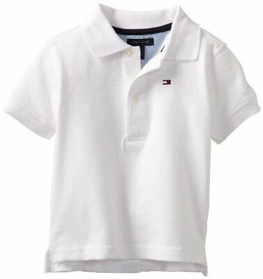 Tommy Hilfiger Baby Boys' Ivy Polo Shirt, White, 12 Months