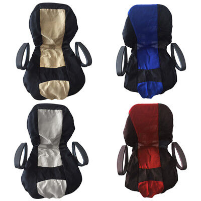 4Pcs Car Front Seat Covers Kit Full Set Head Rest Protector For SUV Truck Van