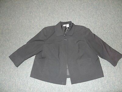 Women's Size Xl Maternity Black Suit Jacket By Duo Maternity