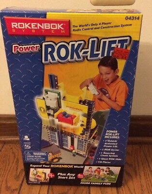 New Sealed Rokenbok Power Rok-Lift Kit - #04314 NIB 110 pieces