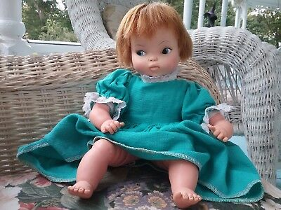 "THUMBELINA DOLL -Ideal ""Tabitha Face""  - Vintage 1966- Has Working Knob"