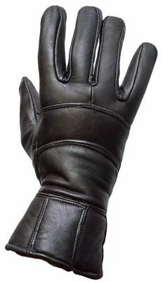 Winter Thermal Motorbike Motorcycle Leather Windstopper Gloves