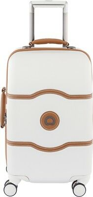 NEW Delsey Chatelet Plus 55cm Cabin Luggage - Angora