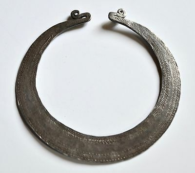 Antique Hmong Silver Torque Laos